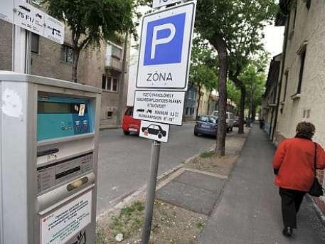 fizetős parkolás