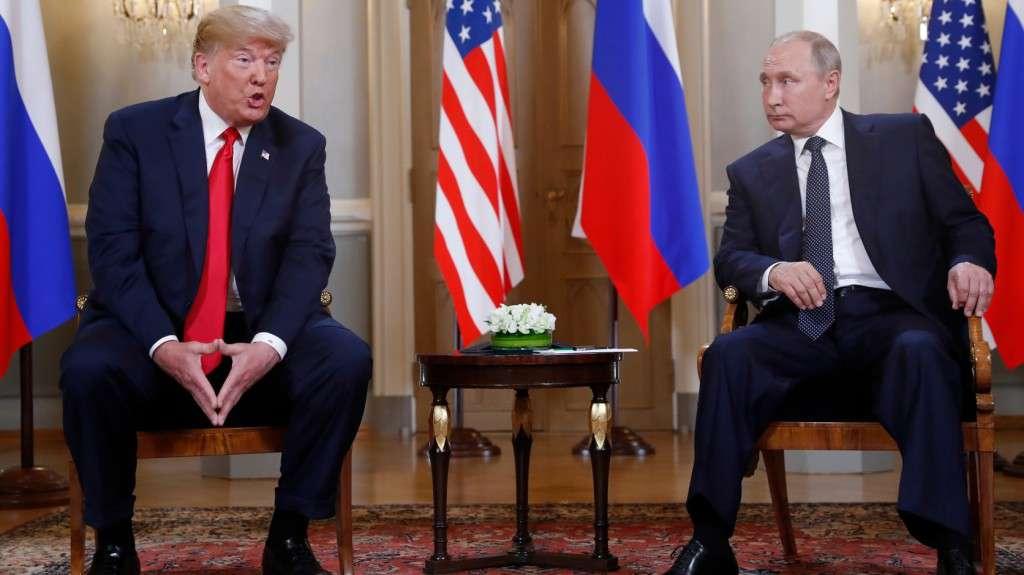 Donald Trump Putyinnal