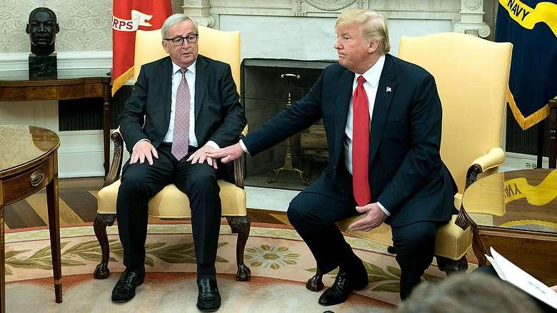 Washington: Juncker és Trump