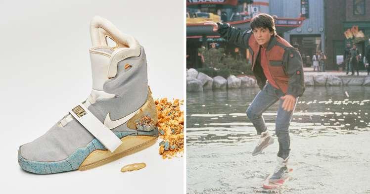 Michael J. Fox és a cipő