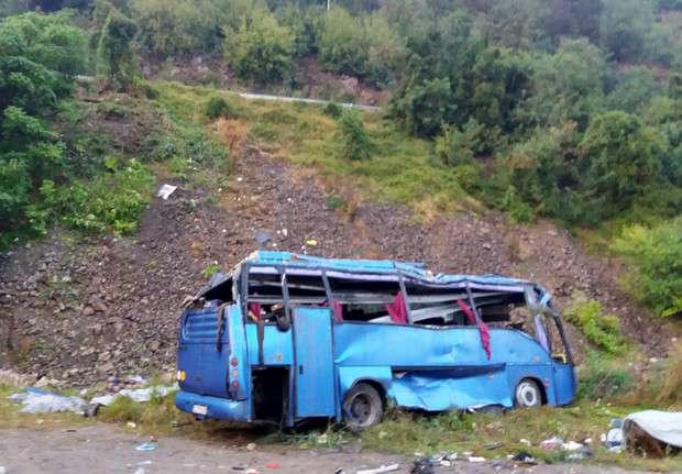 buszbaleset Bulgáriában
