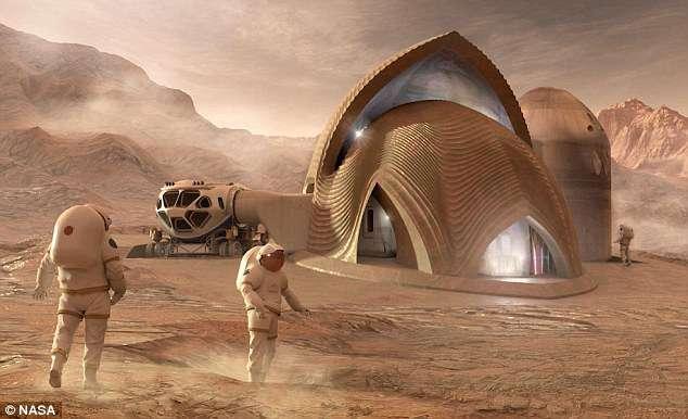 NASA pályázat marsi házakra