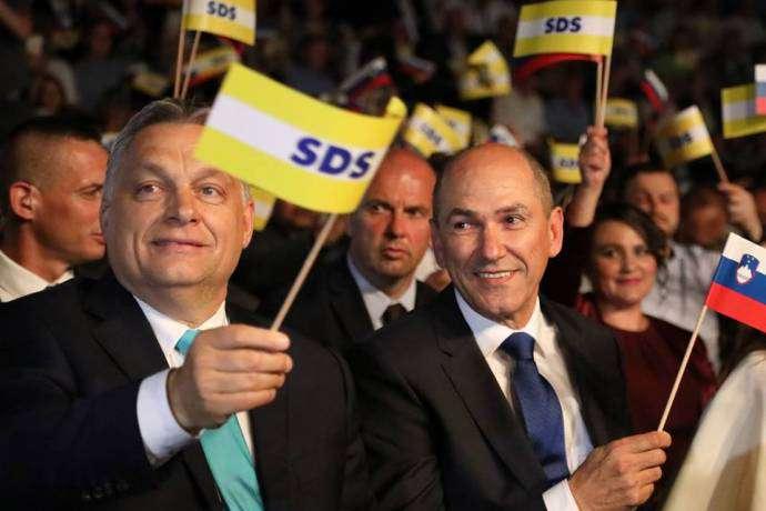 szlovén kormánykoalíció Orbán barátja nélkül