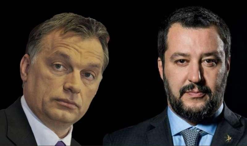 Orbán és Salvini - a menekült a kedvenc témájuk