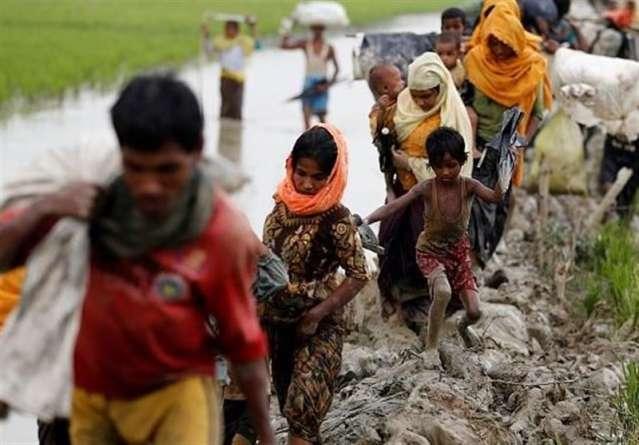Rohingya menekültek