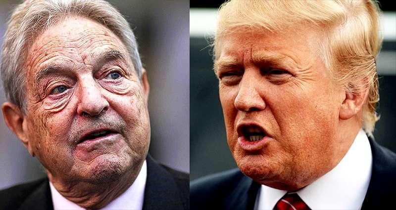 Soros György és Trump