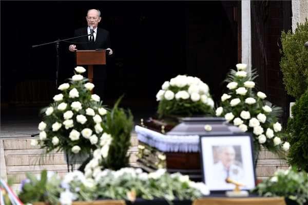Szepesi temetése