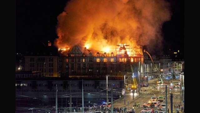 gázrobbanás Zürichben