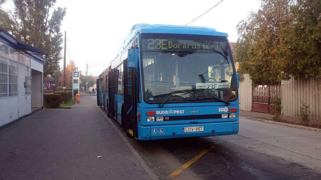 használt buszok a BKV-nak