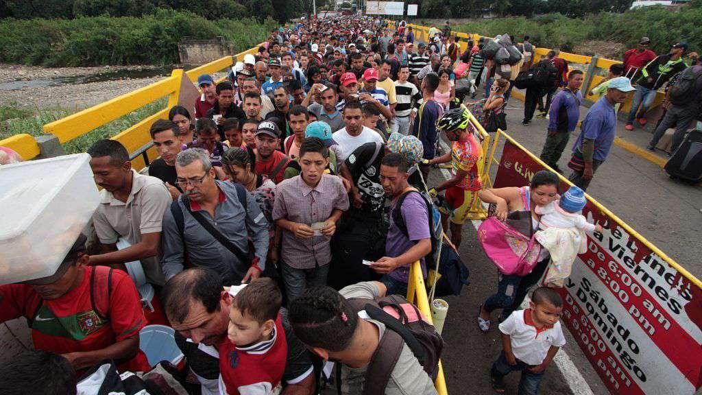 venezuelai menekültek
