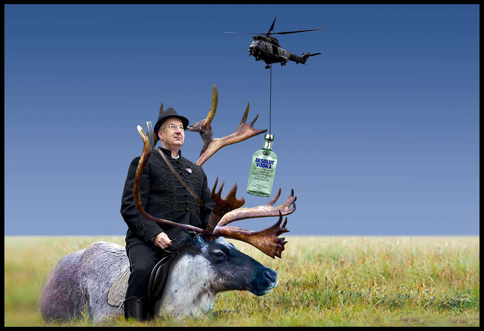 agancsszobor a vadászati világkiállításra