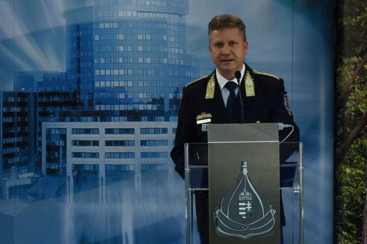 Bucsek Gábor budapesti rendőrfőkapitány