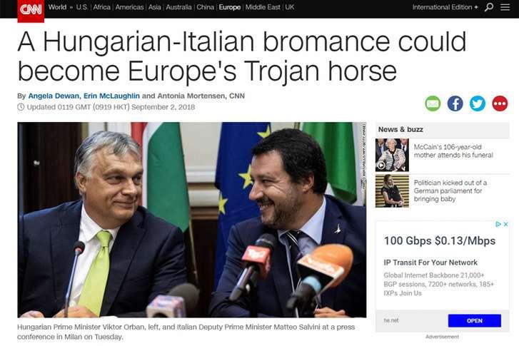 CNN - Orbán és Salvini