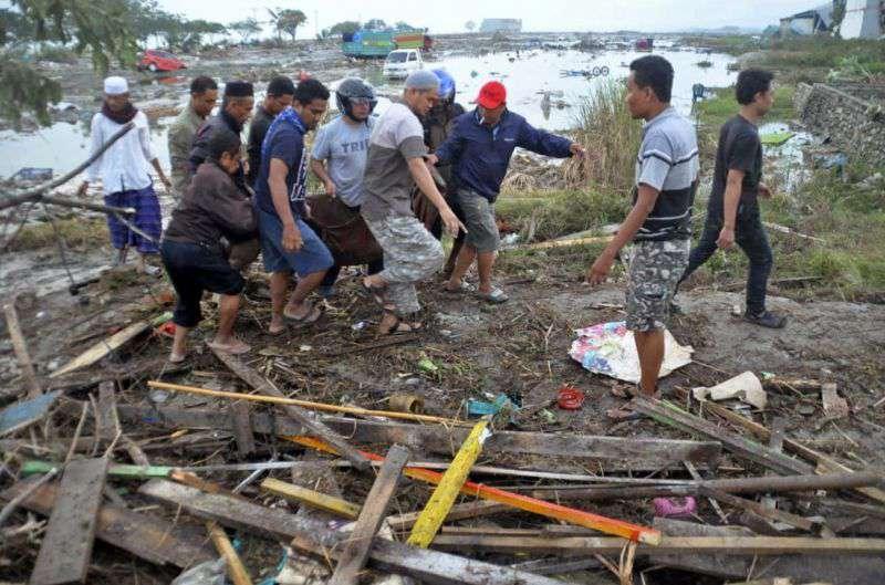 indonéziai földrengés