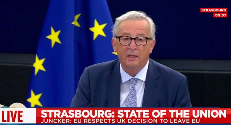 Juncker beszéd