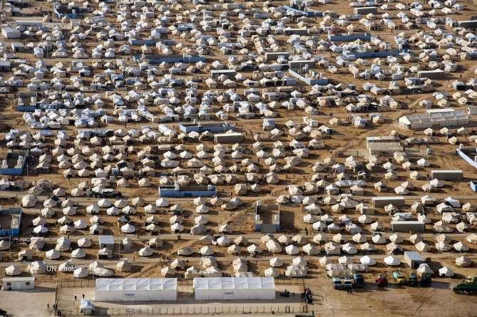 keresztény menekültek. Jordánia