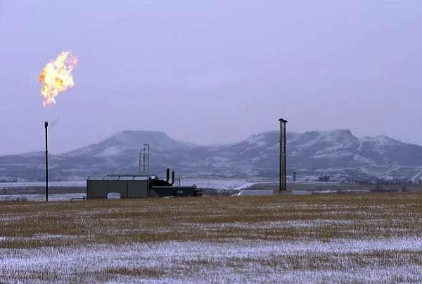 metán égetés Amerikában