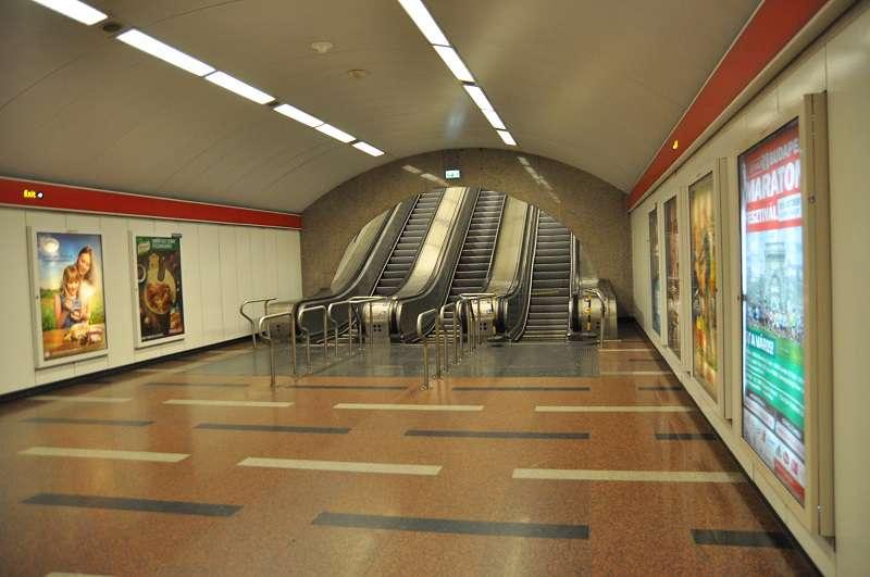 metró, Déli pályaudvar