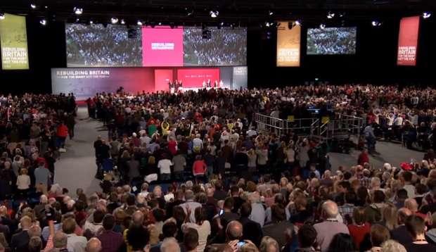 A brit Munkáspárt kongresszusa