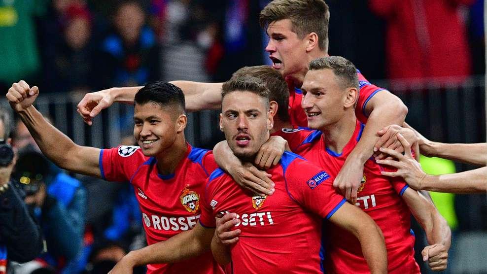 CSZKA Moszkva Real Madrid