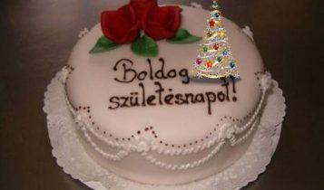 karacsonyi torta