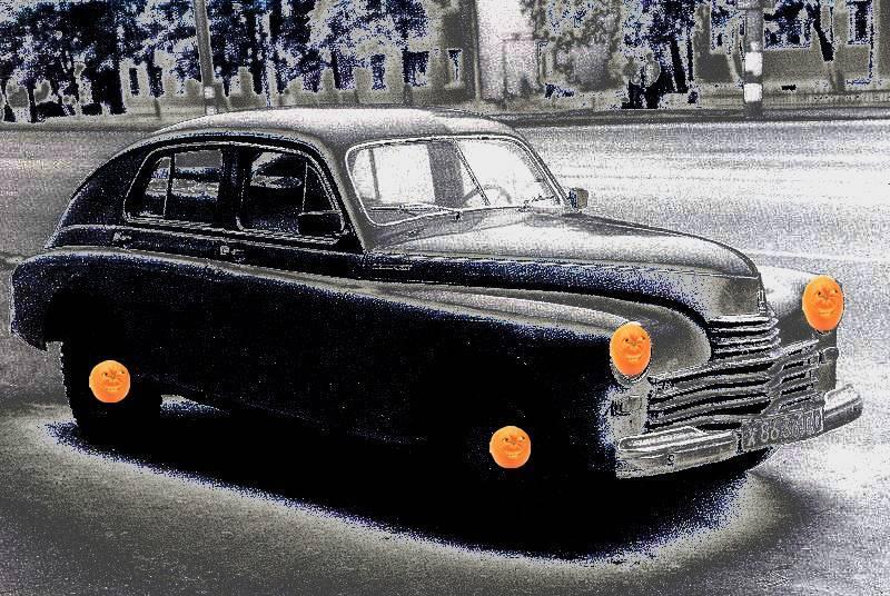 Pobeda, az AVO-s auto