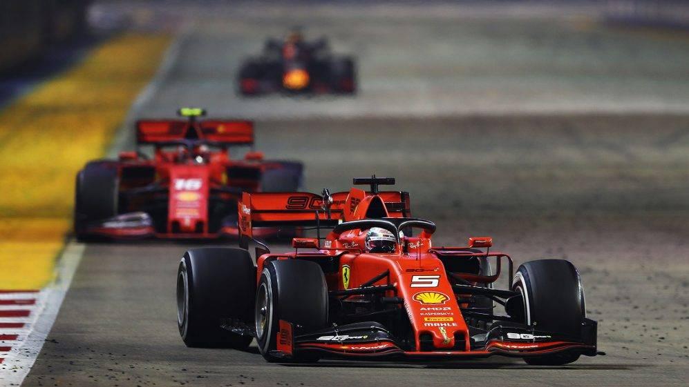 Vettelt kizárták a Magyar Nagydíjról - nem, nem azért!