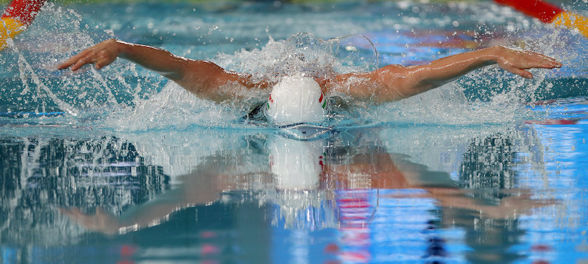 Hosszú duplázott, Jakabos bronzérmes 200 méter pillangón 1
