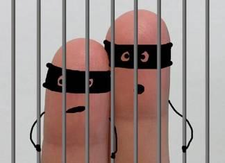 börtönben