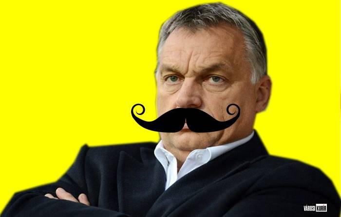 Nemzeti oltás, Orbán bajusza