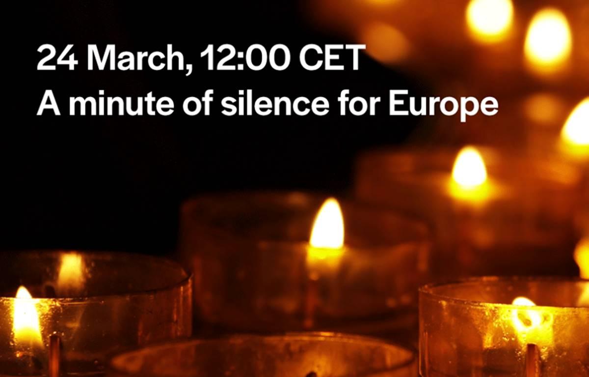 egy perc csend budapesten a járvány áldozataira emlékezve