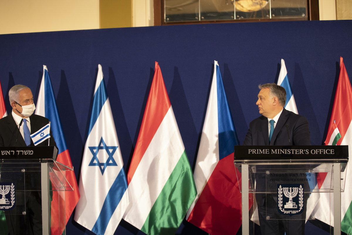 Izrael, Orbán