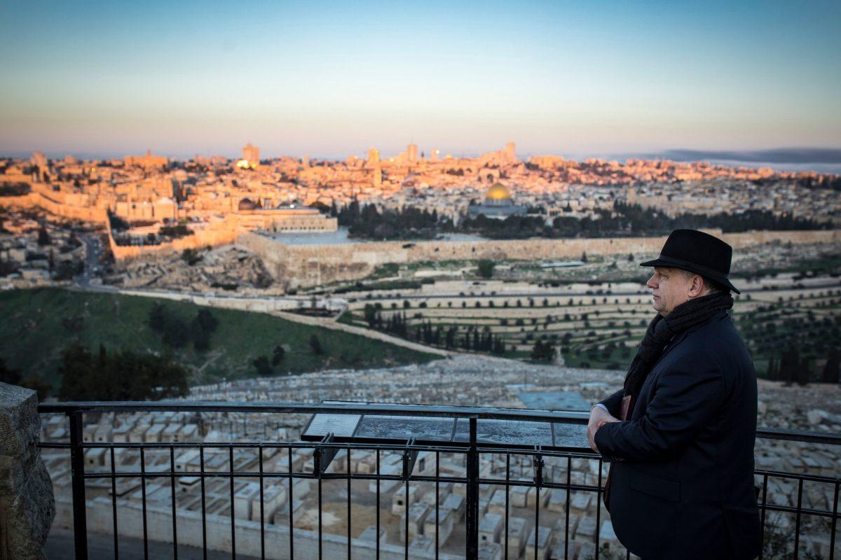 orbán izraelben