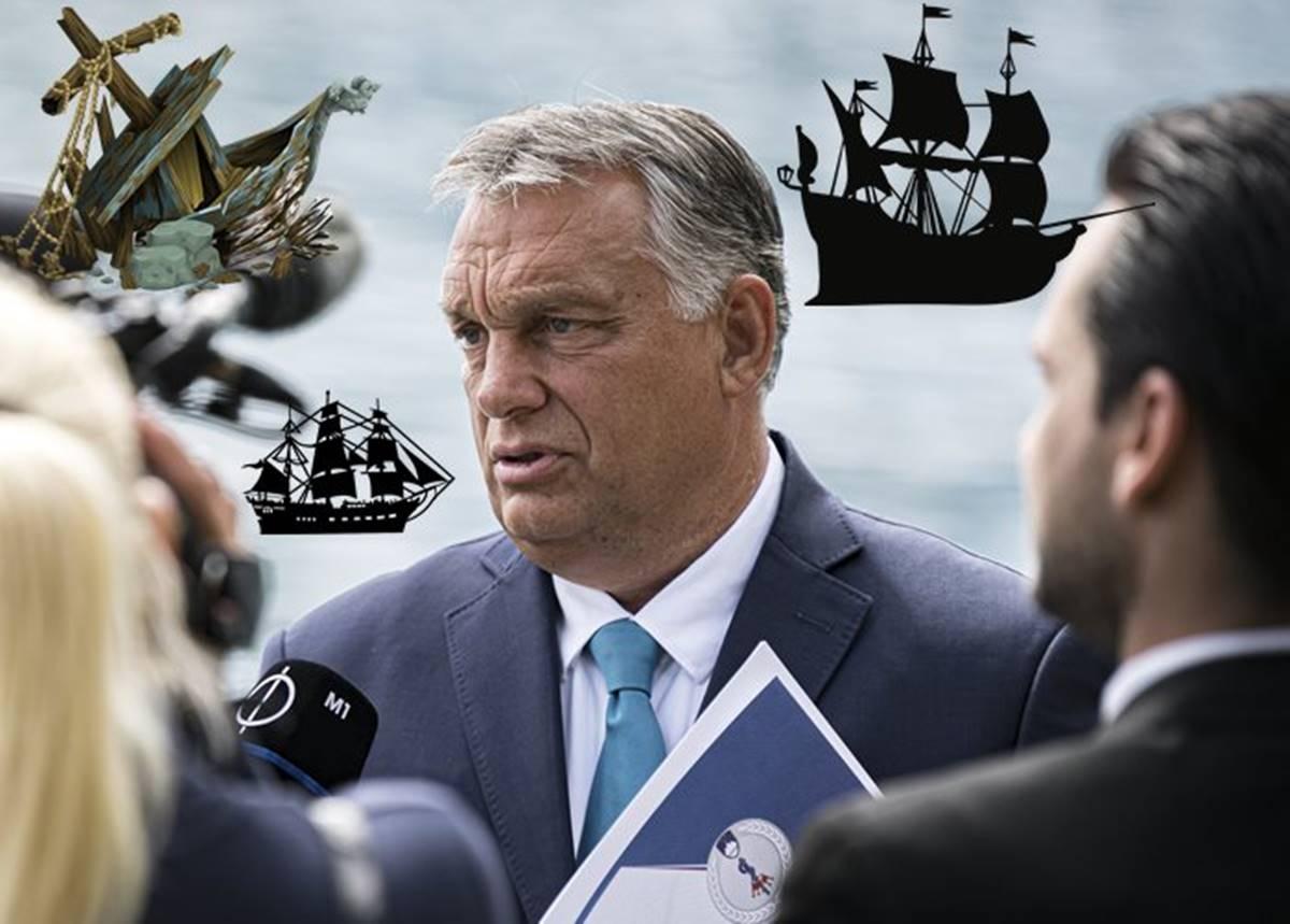 orbán a hajókról