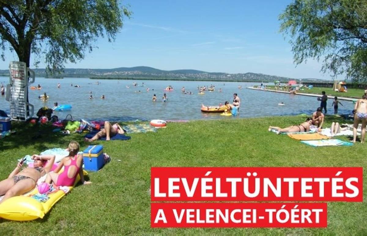 Ezt tiltsátok be, fiúk! Levéltüntetés a Velencei tóért - mert az a tied is!