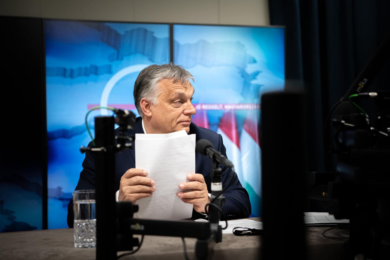 Orbán: magyarok vagyunk, a vakcinálás nálunk olyan, mint az adóbevallás