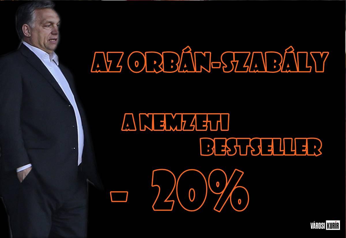 """A másodlagos frissességű Orbán-szabály - G. Fodor """"kihagyhatatlan"""" könyve leértékelve...."""