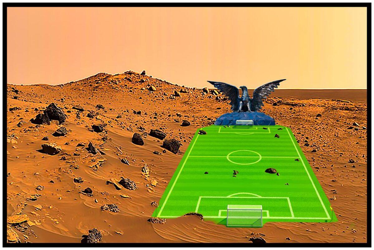 Alapítványi fenntartás alá kerül a Marson az elmúlt héten kialakított magyar műfüves futballpálya... - Cseri László szerint a világ Orbániában