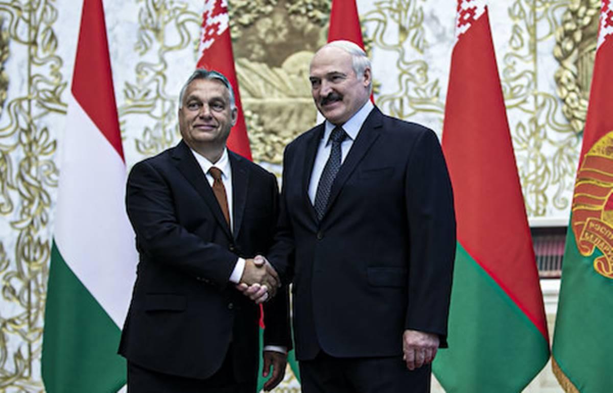 Barátunk, Lukasenko, Belarusz elnöke