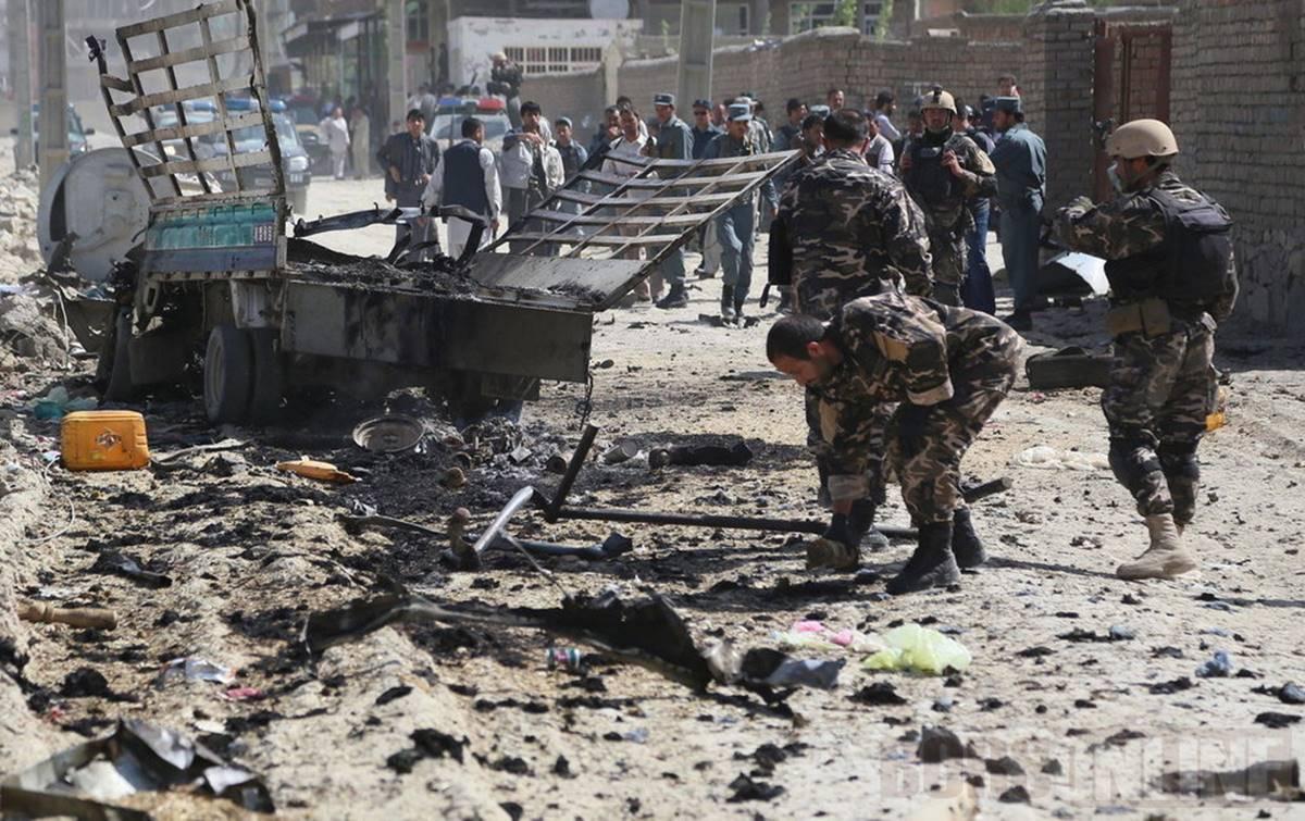 Egy nap alatt a terroristák 7-sezr robbantottak volt Kabulban!