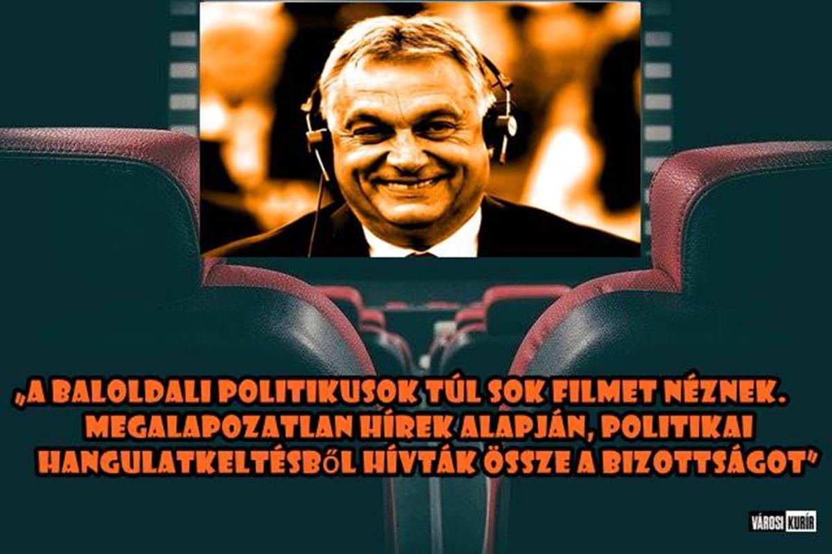 """Fidesz: túl sok filmet néznek a baloldali politikusok, ezért hívják össze a nemzetbiztonsági ülést - Nem mennek """"ülni""""!"""