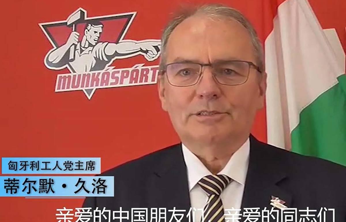 Thürmer Gyula meghallva az idők szavát egy kínai állami médiában haknizott!