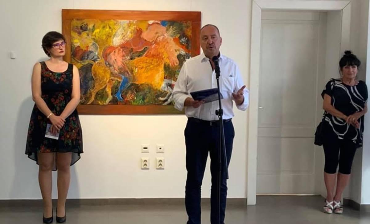 Németh, kiállítás megnyitás