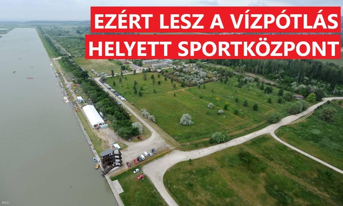 Ezért lesz a vízpótlás helyett sportközpont! - Száraz Velencei-tónak nedves partján....?