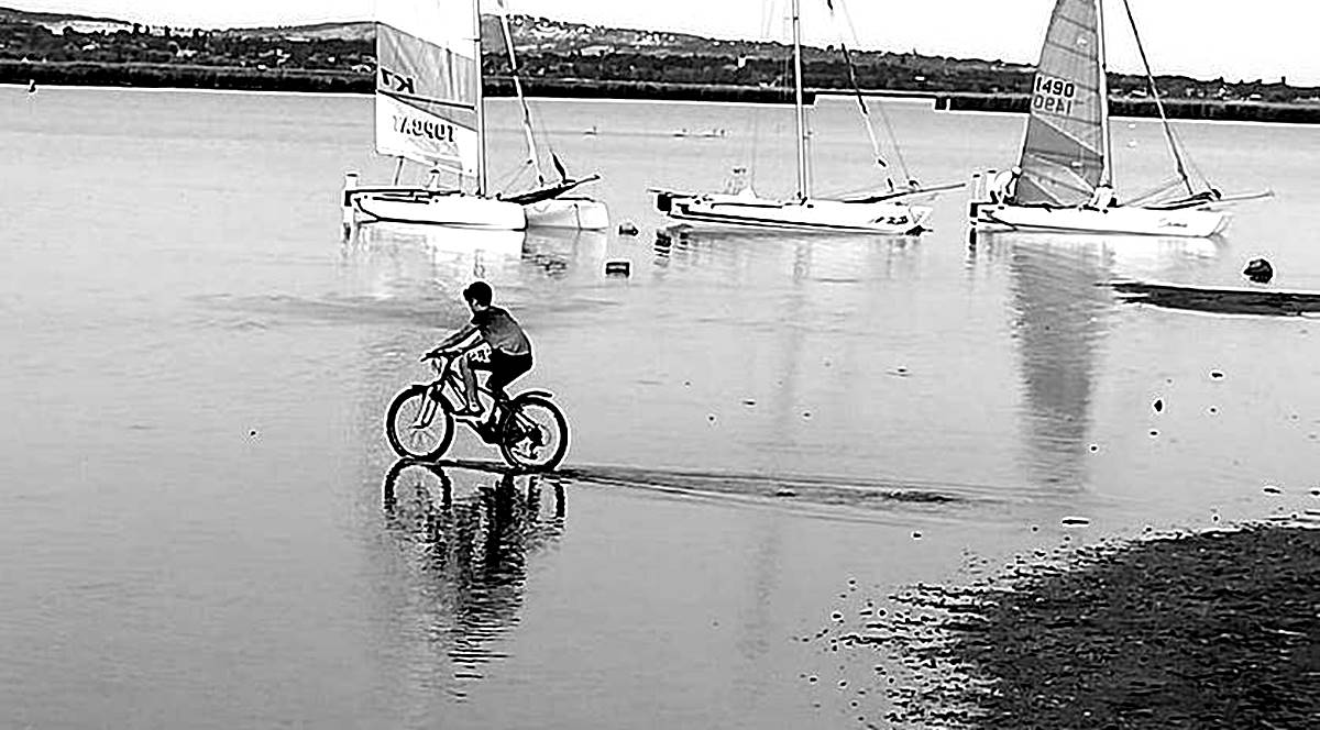 A gárdonyi fizető parkolót üzemeltető képviselő biztos, ami tuti, 1 hónappal előbb kezdi a szezont! - Ha nem lesz víz a Velencei-tóban, majd fizet a katasztrófa-turista?