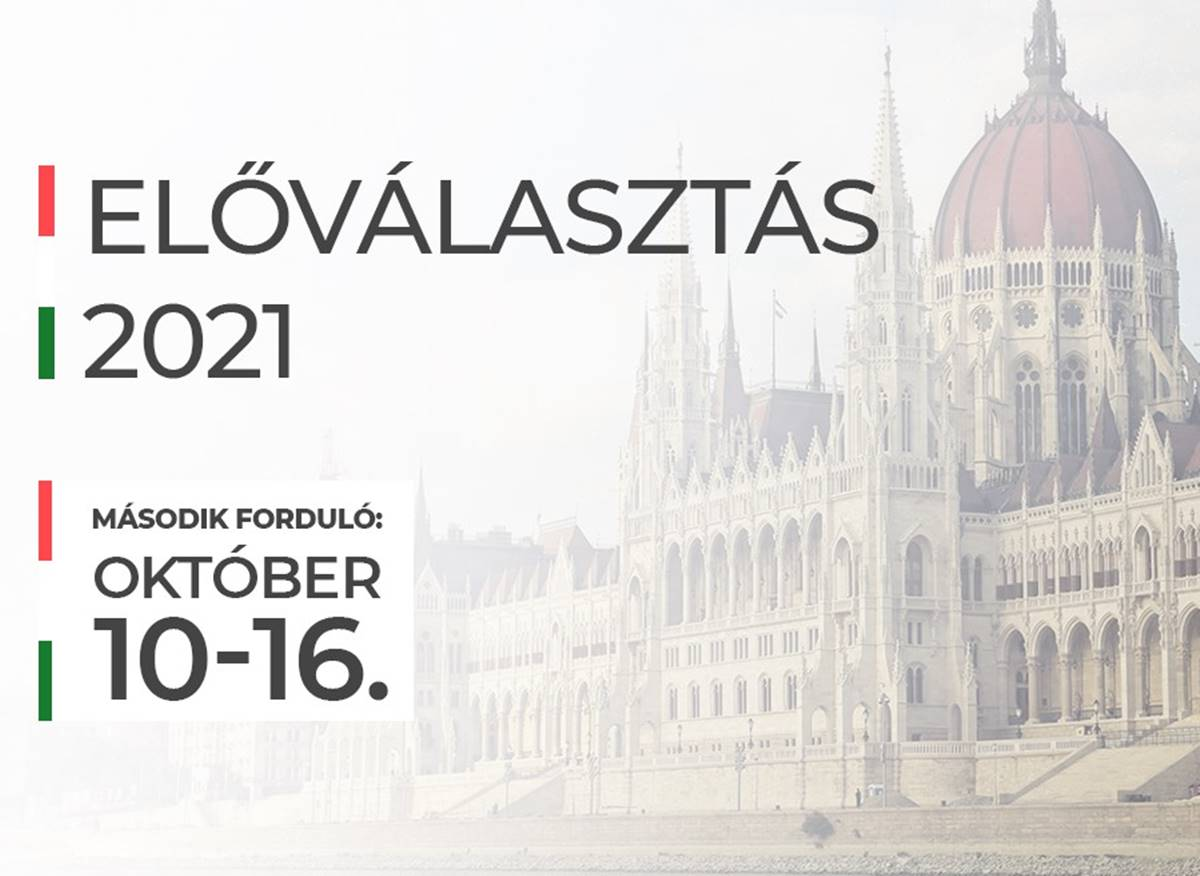 Október 10-16. között lesz az előválasztás második fordulója